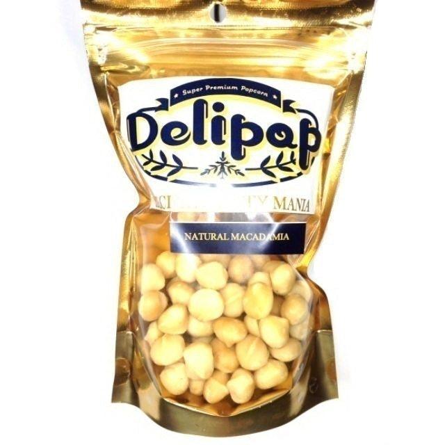 Delipop แมคคาเดเมียอบธรรมชาติ 1