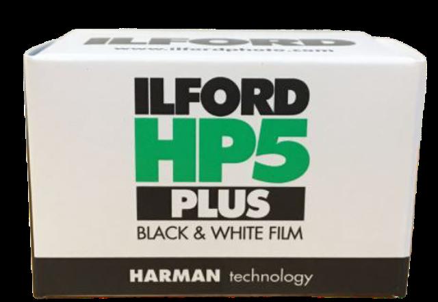 Ilford ฟิล์มขาวดำ Ilford HP5 Plus 1
