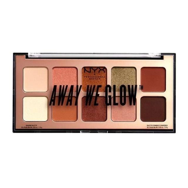 NYX Professional Makeup  Away We Glow Eyeshadow Palette 1