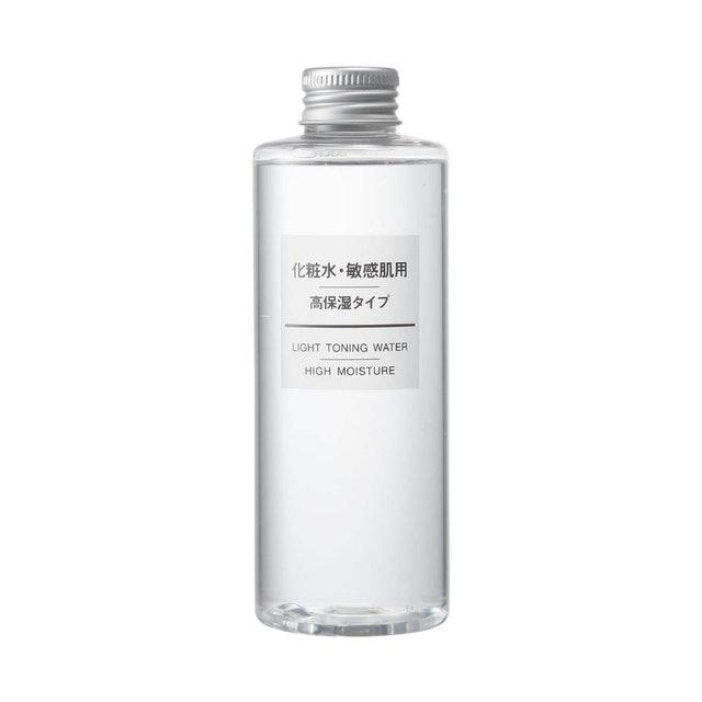 Muji โทนเนอร์ญี่ปุ่น Light Toning Water / High Moisture 1