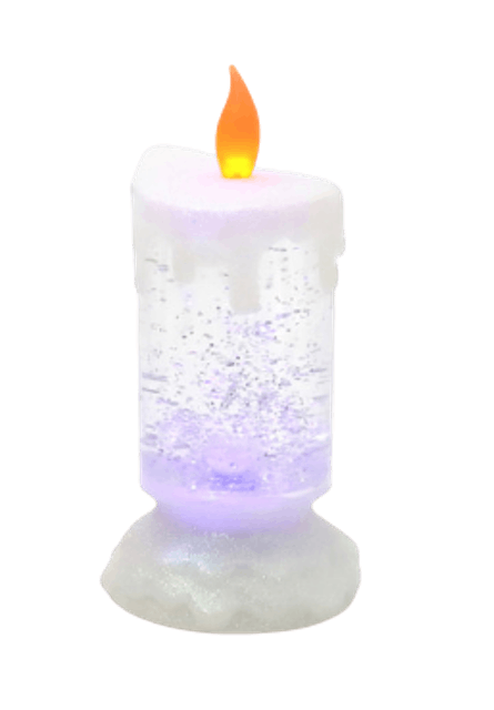 CLAIRE  เทียน LED XMAS สีหมุน  1