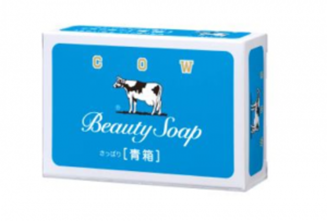Cow Brand Beauty Soap Blue Box 1