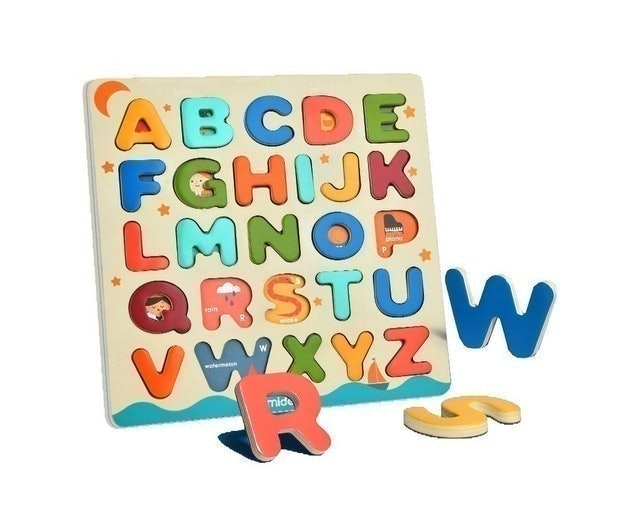 Mideer ของเล่นเสริมพัฒนาการเด็ก ชุด บอร์ด ABC ฝึกภาษา 1