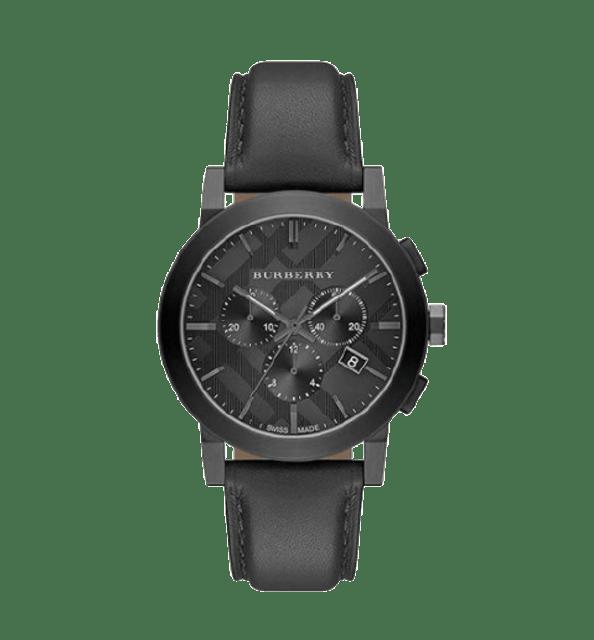 BURBERRY นาฬิกาข้อมือ รุ่น The City Chronograph Dark Grey Dial 1