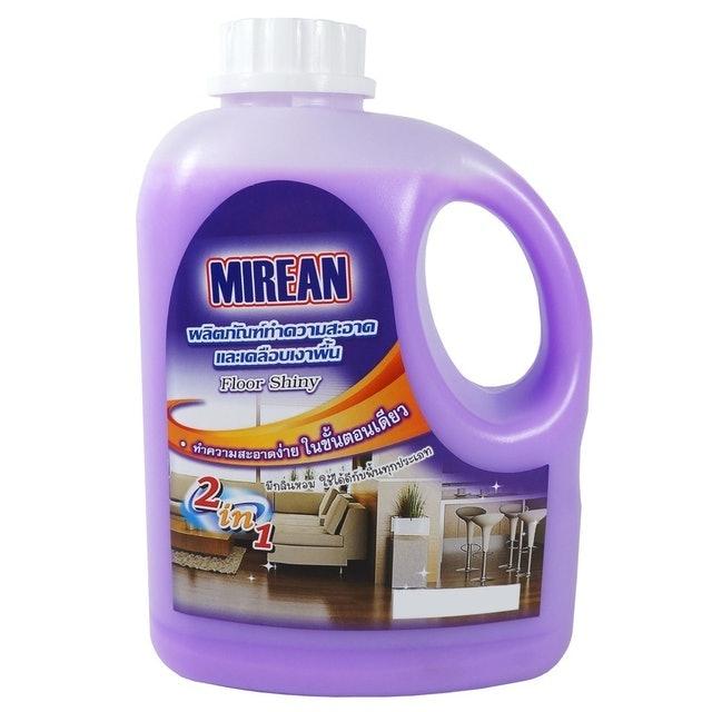 Mirean น้ำยาถูพื้น : ผลิตภัณฑ์ทำความสะอาดและเคลือบเงาพื้น 1