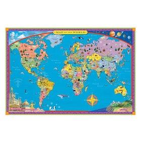 10 อันดับ แผนที่โลก ยี่ห้อไหนดี ฉบับล่าสุดปี 2021 เสริมสร้างความรู้ มีทั้งลูกโลก โปสเตอร์ และจิ๊กซอว์ 2