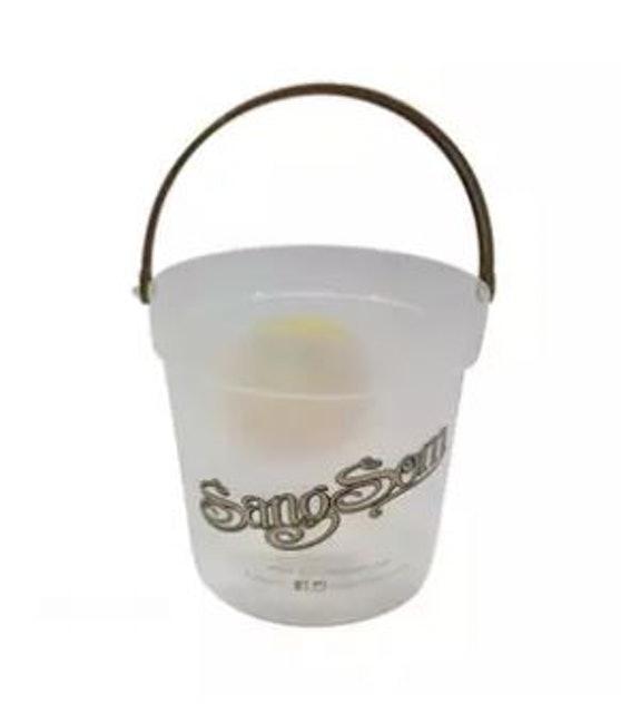 OO&P Shop ถังน้ำพลาสติก ถังน้ำแข็งแสงโสม หูหิ้ว 1.5 ลิตร 1