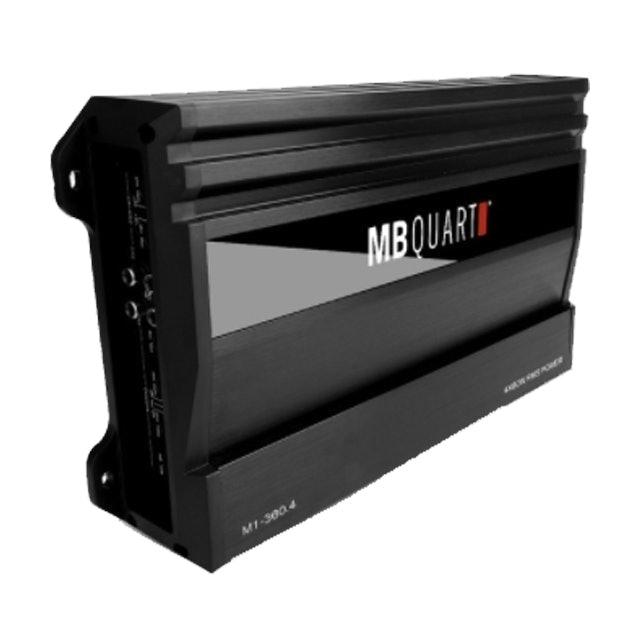 MB Quart เพาเวอร์แอมป์รถยนต์ รุ่น M1-360.4 1