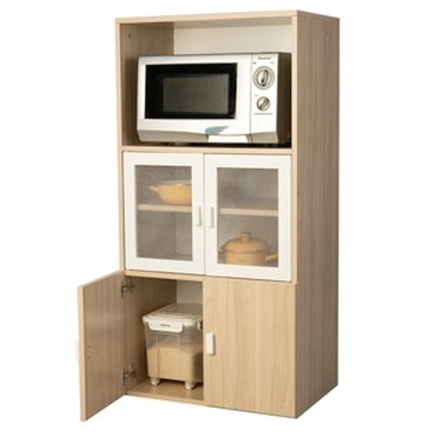 Shopsmart ตู้เก็บของในครัว รุ่น Lilly 122 ซม. 1