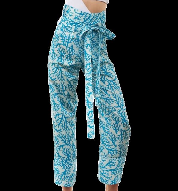 Seashells Swimwear กางเกงเล รุ่น Blue Coral Oceana Pants 1