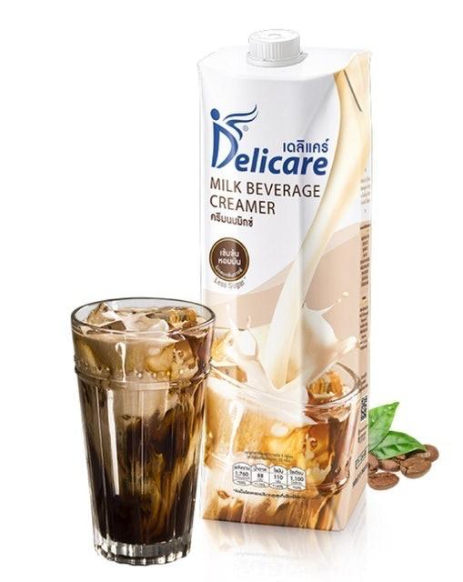Delicare ครีมนมมิกซ์ เติมกาแฟและเครื่องดื่ม 1
