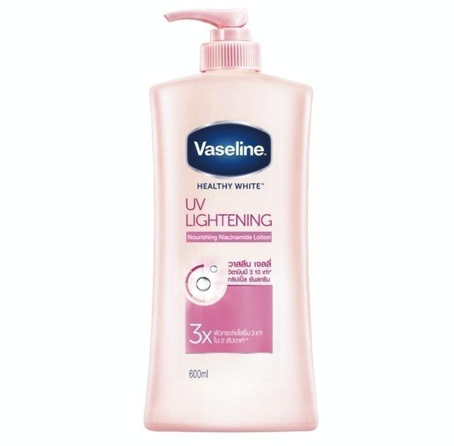 Vaseline โลชั่นชมพู Healthy White UV Lightening Lotion 1