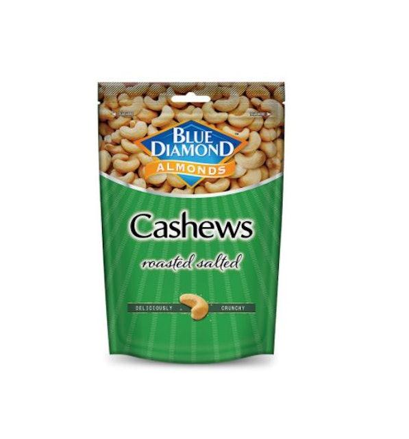 Blue Diamond  Roasted Salted Cashews Nuts  1