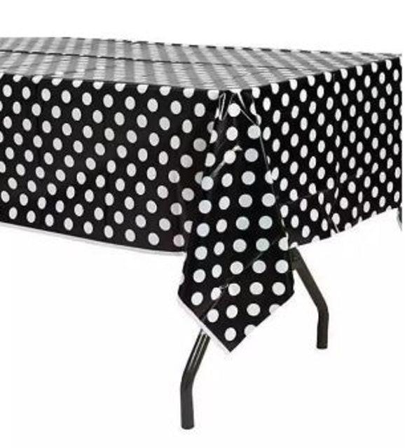 No Brand  ผ้าาปูโต๊ะพลาสติกลายจุด 1