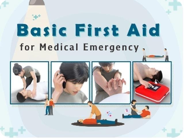 อ.นพ.ธนดล โรจนศานติกุล Basic First Aid for Medical Emergency 1