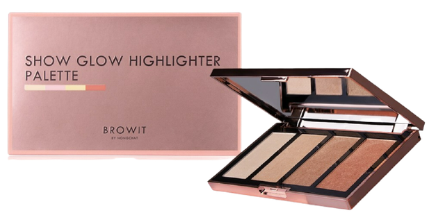 Browit Show Glow Highlighter Palette 1