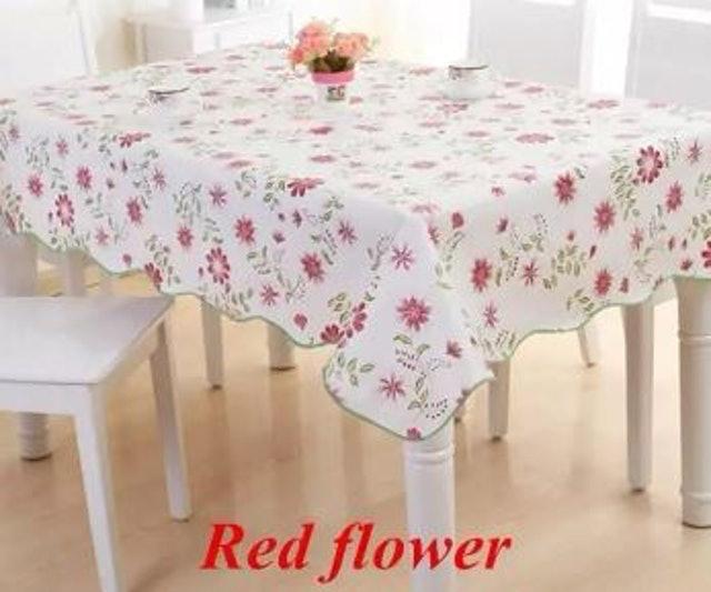 No Brand ผ้าปูโต๊ะ PVC สไตล์ Pastoral 1