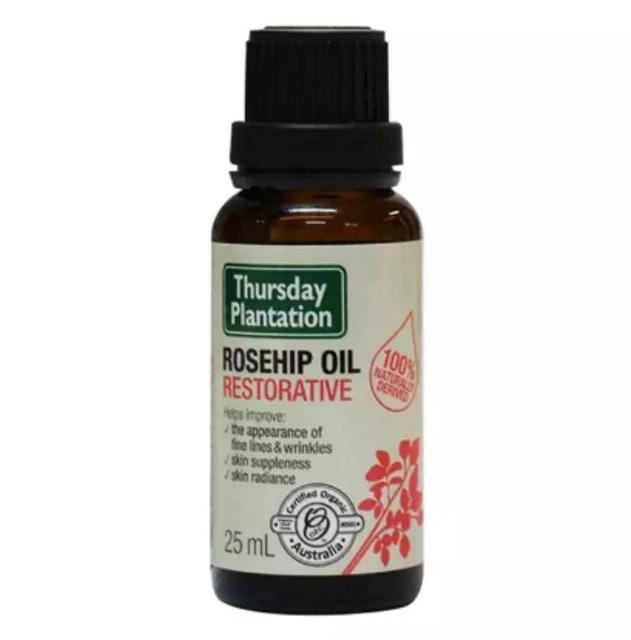 Thursday Plantation Rosehip Oil Certificated Organic Restorative 1