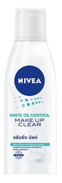 NIVEA White Oil Control Make Up Clear Cleansing Milk 1