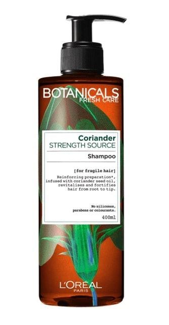 L'OREAL Botanicals Fresh Care Coriander Strength Source Shampoo 1