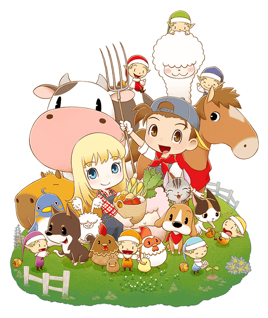 XSEED Games เกมแนว Minecraft STORY OF SEASONS: Friends of Mineral Town 1