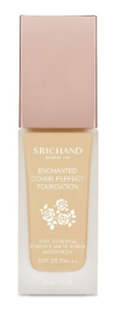 SRICHAND  รองพื้นกันน้ำ Enchanted Cover Perfect Foundation  1