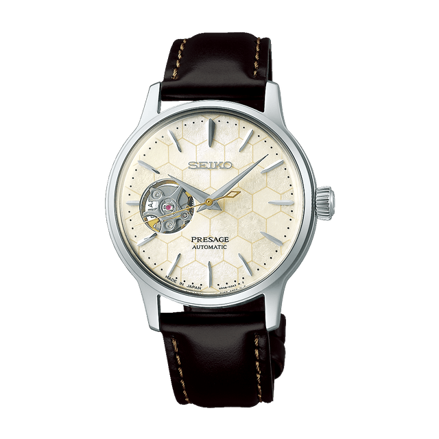 Seiko Presage Honeycomb Cocktail Automatic Limited Edition SSA781J1 1