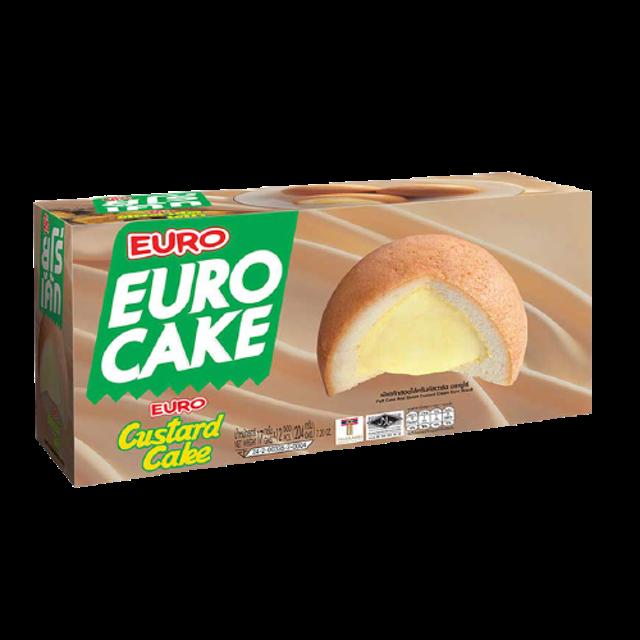 EURO อาหารแห้งในเซเว่น พัฟเค้กสอดไส้ครีมคัสตาร์ด 1