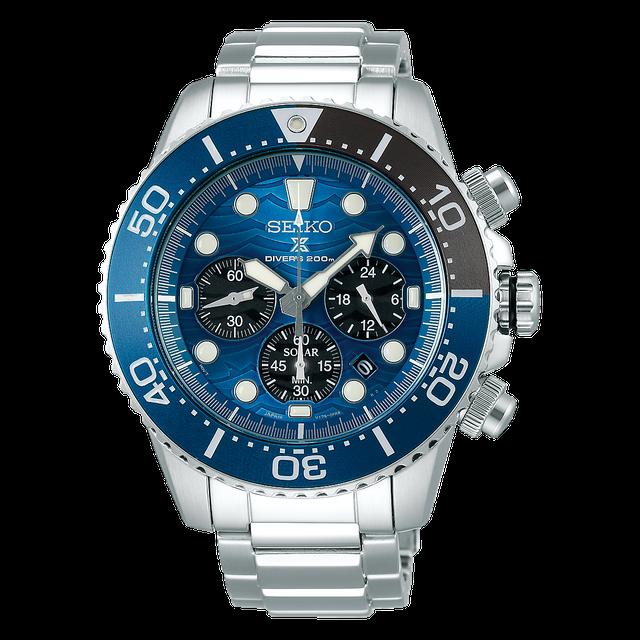 SEIKO นาฬิกา Dive Watch รุ่น Prospex Solar Save the Ocean Limited Edition SSC741P1 1