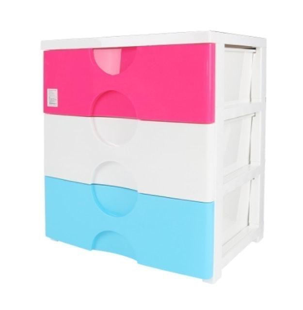 Do Home ตู้ลิ้นชักพลาสติก 3 ชั้น รุ่น A5803 1