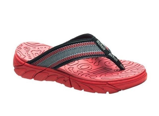 Scholl รองเท้าแตะคีบเพื่อสุขภาพ รุ่น BRAZILLIAN II PURE RED 1