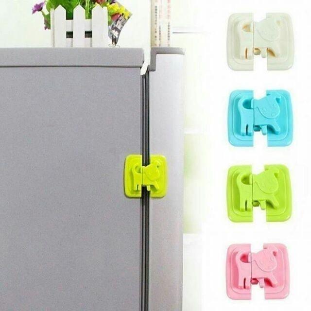 No Brand  ที่ล็อกตู้เย็น ที่ล็อกตู้กันเด็กเปิดเล่น  1
