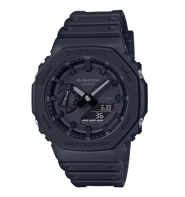 Casio นาฬิกาข้อมือผู้ชาย G-Shock Black Dial Black รุ่น GA-2100-1A1DR 1