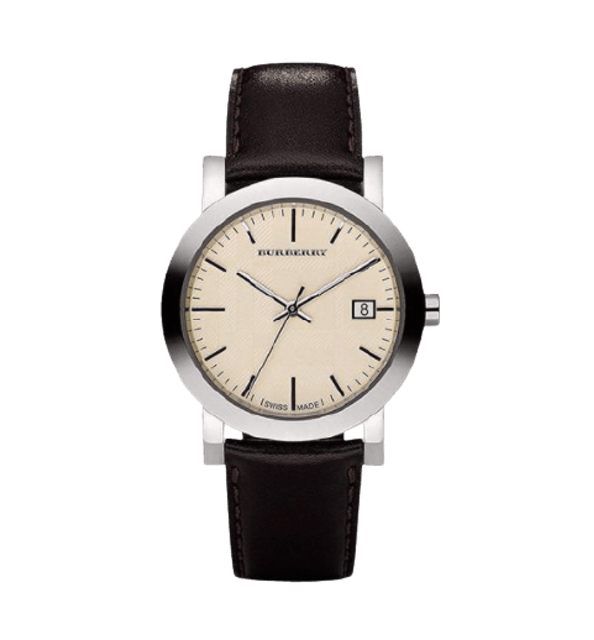 BURBERRY นาฬิกาข้อมือรุ่น Engraved Beige Dial 1