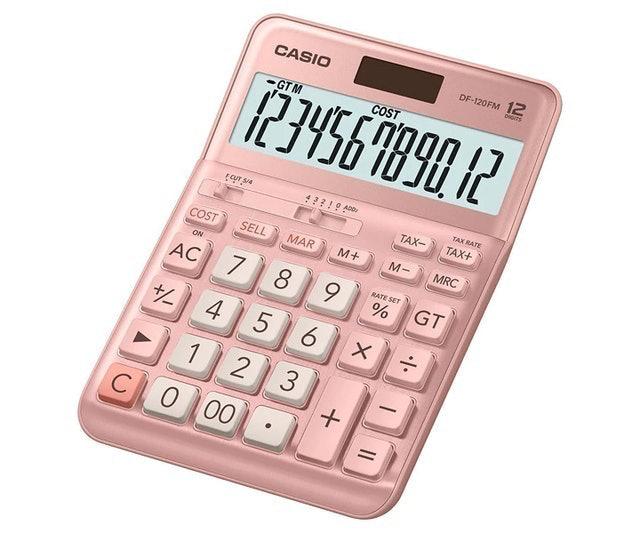 Casio DF-120FM-PK 1