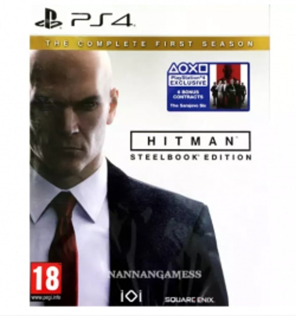 PS4 Hitman The Complete First Season SteelBook Edition 1