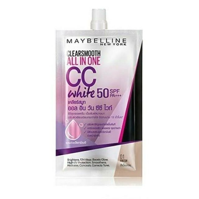 Maybelline  Clear Smooth All In One CC White  1