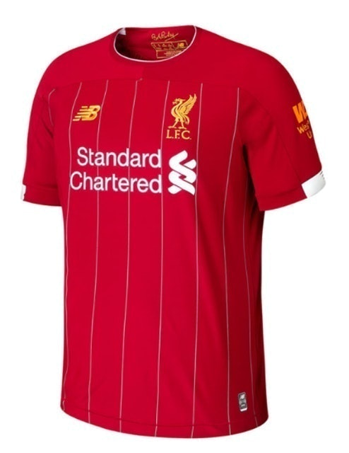 NEW BALANCE เสื้อบอล Liverpool ชุดเหย้า ฤดูกาล 2019/20 1