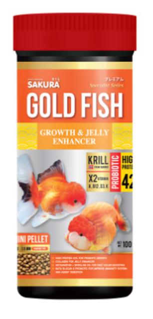 SAKURA อาหารปลาทอง สูตร GROWTH & ENHANCER  1