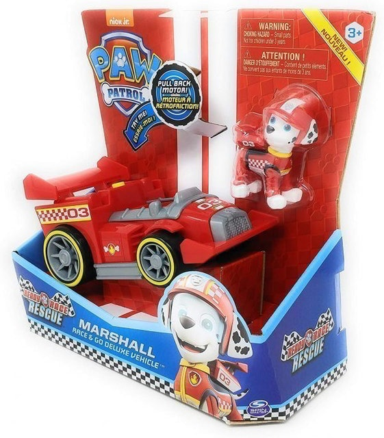 nick jr. รถของเล่นเด็ก รุ่น Paw Patrol Ready Race Deluxe Vehicle 1