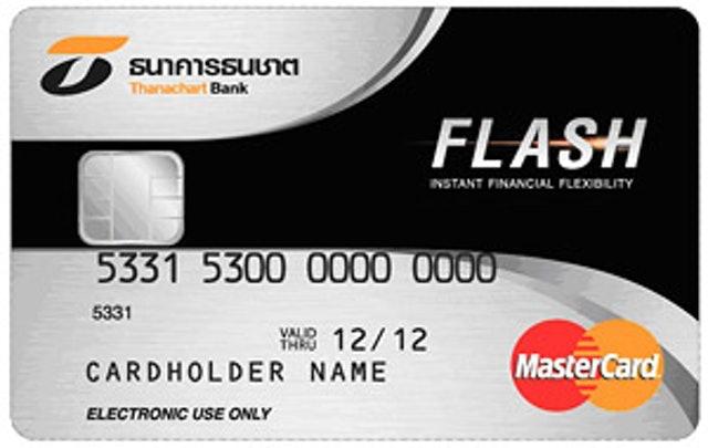 ธนาคารธนชาต บัตรกดเงินสดสินเชื่อบุคคลธนชาต FLASH Plus 1