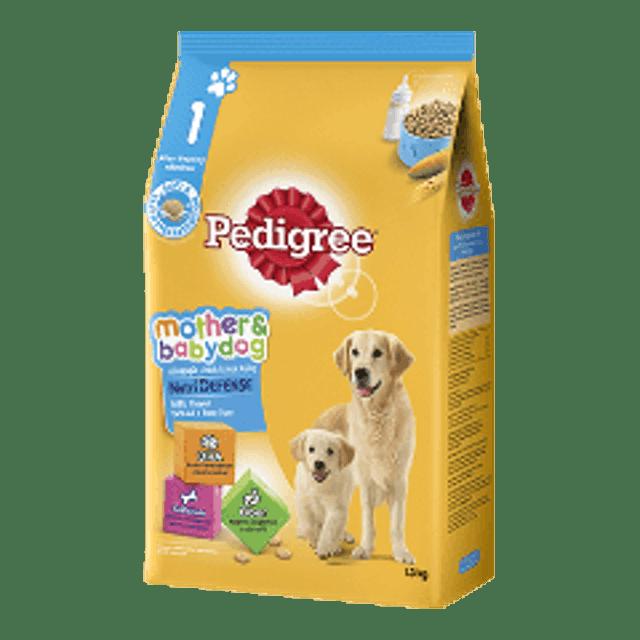 Pedigree อาหารสุนัขชนิดเม็ด สำหรับแม่และลูกสุนัข รสนม 1