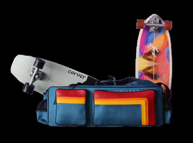 Mett's Design กระเป๋าใส่สเก็ตบอร์ด เซิร์ฟสเก็ต 1