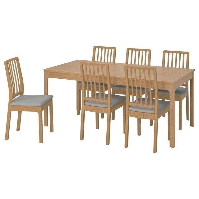IKEA โต๊ะกินข้าว รุ่น EKEDALEN เอียเคดาเลน 1