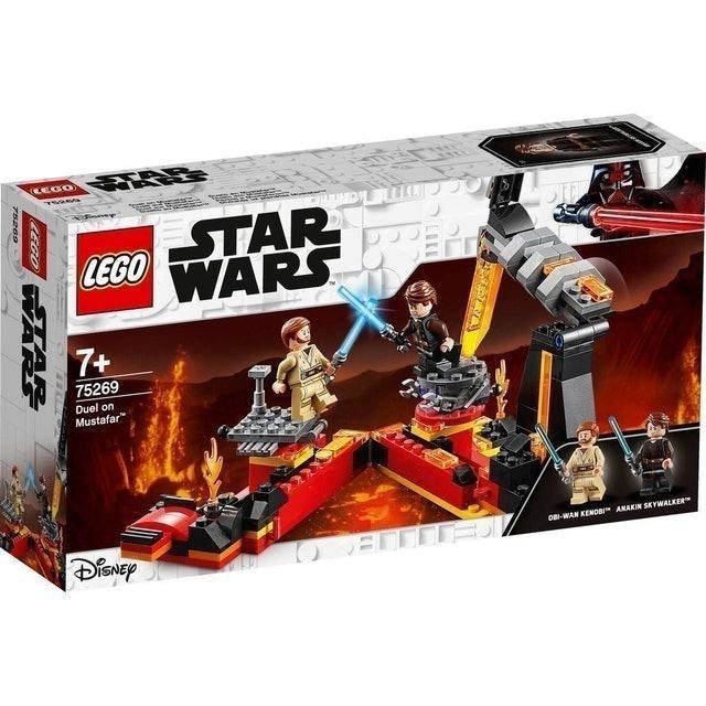 LEGO ตัวต่อเสริมทักษะสำหรับเด็ก Star Wars Duel on Mustafar 1