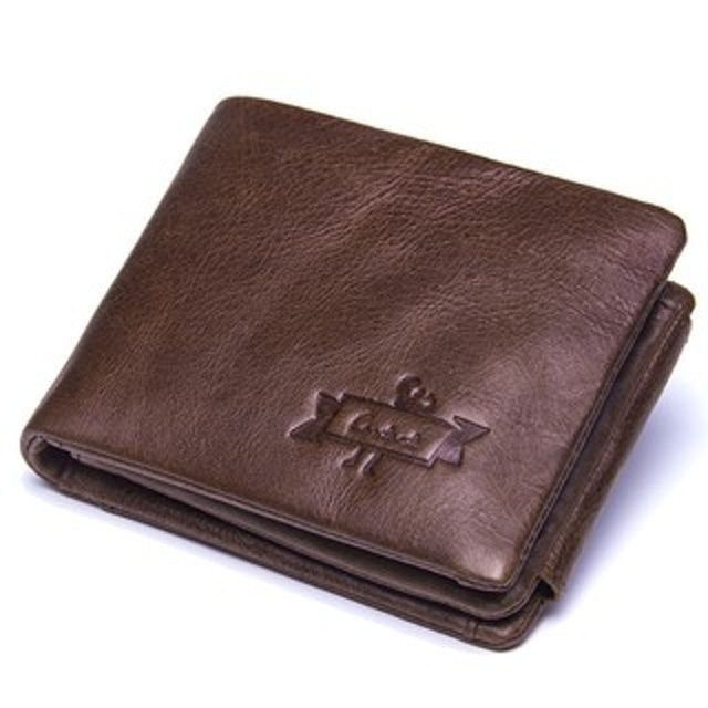 CONTACT'S กระเป๋าสตางค์ผู้ชาย มีช่องใส่เหรียญ 2