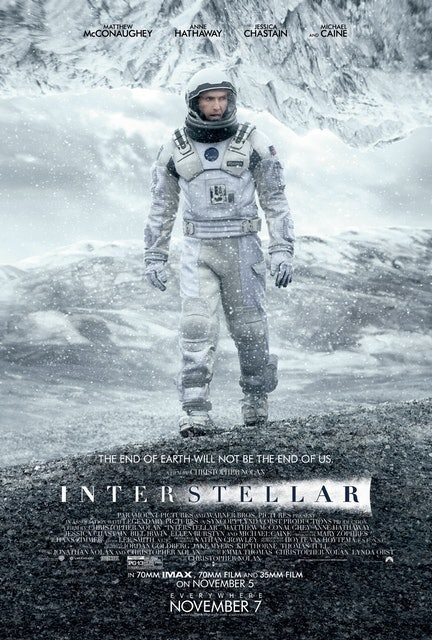 Paramount Pictures, Warner Bros. Pictures, Legendary Pictures, Syncopy, Lynda Obst Productions Interstellar 1