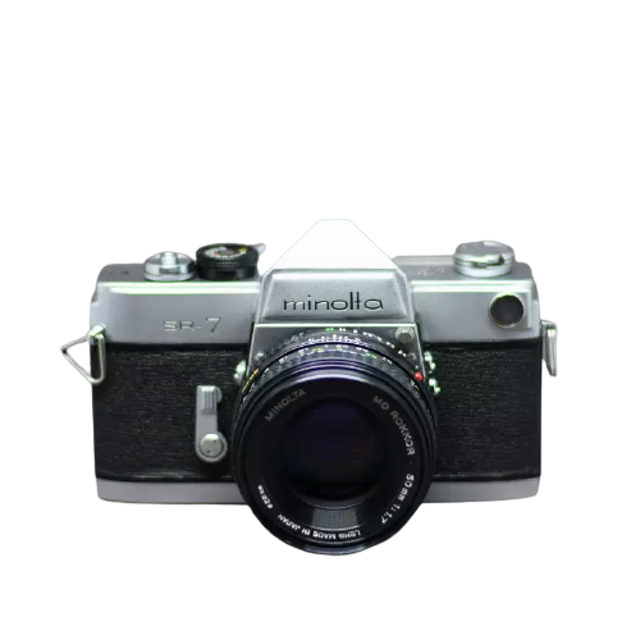 MINOLTA กล้องฟิล์ม SLR รุ่น SR-7 1