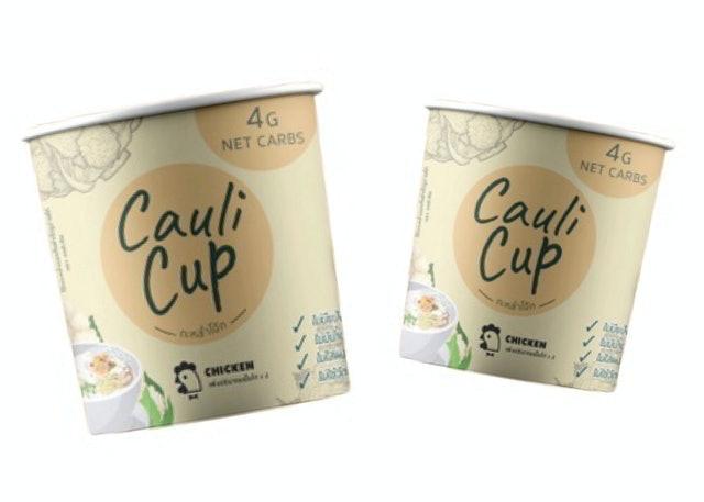 Cauli Cup อาหารเช้าลดน้ำหนัก โจ๊กคีโต 1