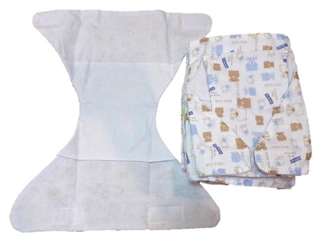 TK Baby กางเกงผ้าอ้อม ผ้าสาลู 1